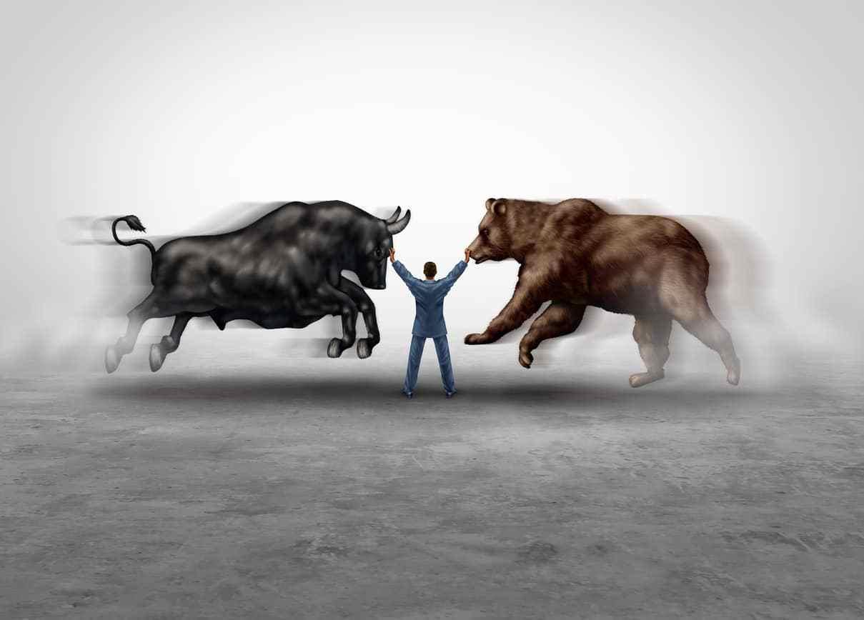 ตลาดหมี VS ตลาดกระทิง