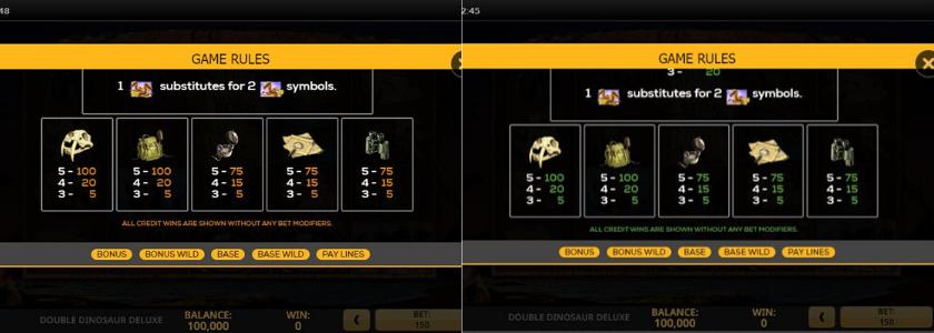 Double Dinosaur Deluxe - ETC